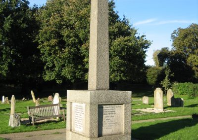 Granite Obelisk War Memorial