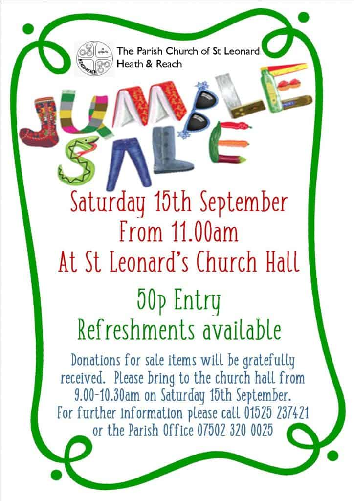 St Leonard's Church Jumble Sale
