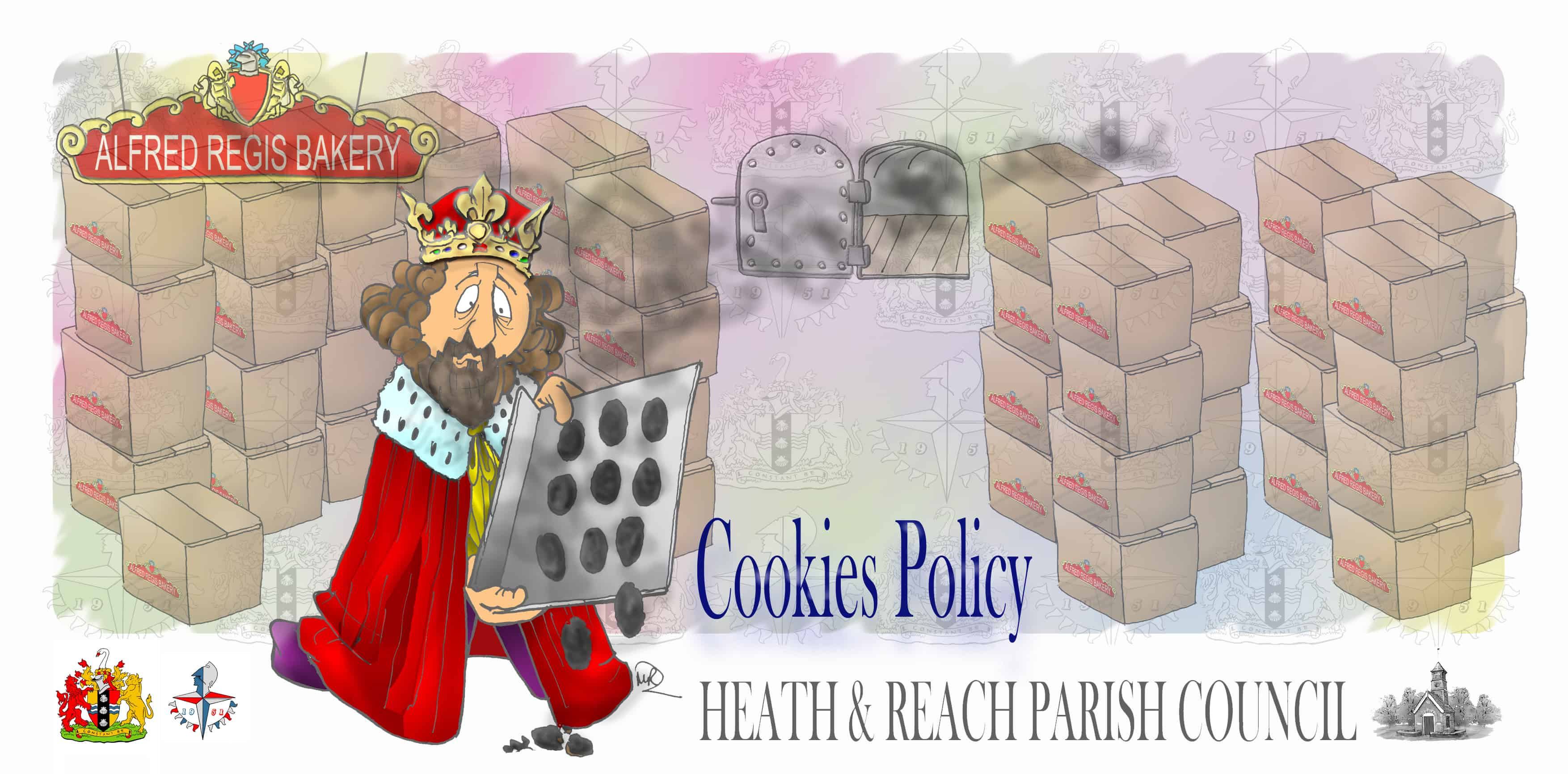 HRPC Cookies Policy drawn by Martin Richardson of Graphite HB