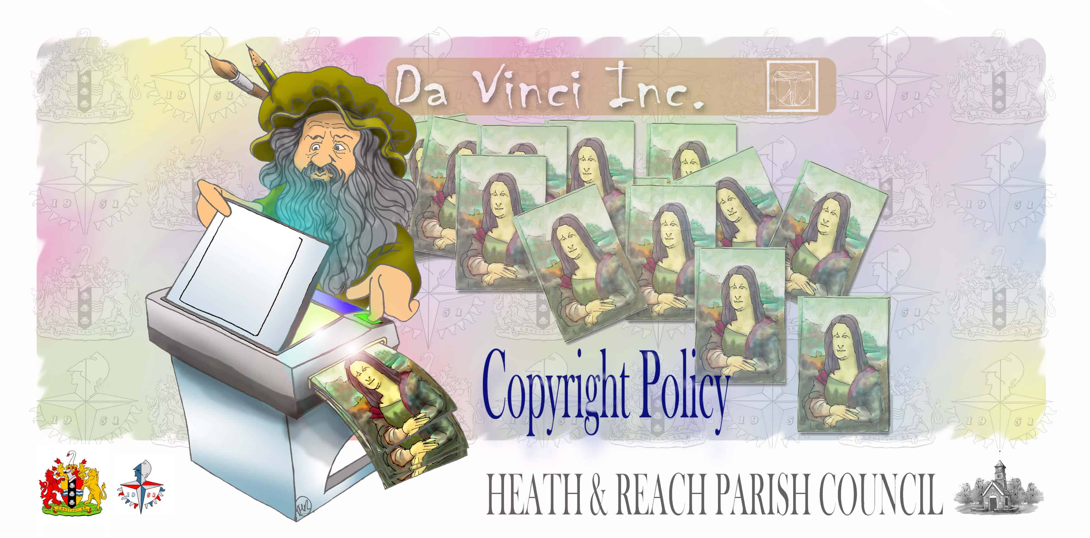 Copyright Policy - Heath and Reach Parish Council. Image by Martin Richardson of Graphite HB