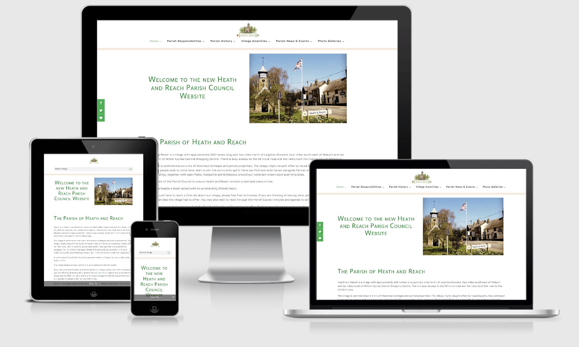 Heath and Reach Parish Council Website