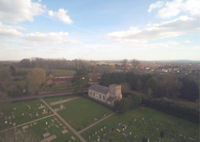 Parish Cemetery - Courtesy of James Hoare of LHW Partnership LLP