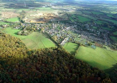 Ariel view of Heath and Reach - photograph courtesy of James Hoare - CEng MIET MEI