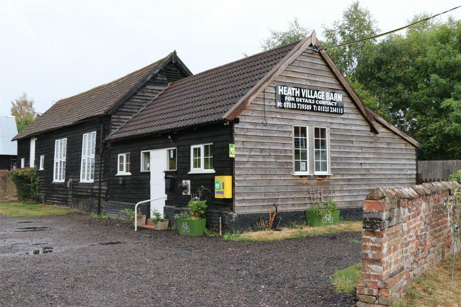 Heath Village Barn from Eastern Way