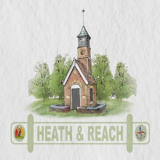 Heath and Reach Parish Council logo