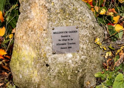 Millennium Gardens stone