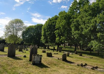 Heath and Reach Parsih Cemetery - photograph by Francesca Sheppard