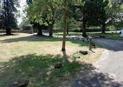Parish Cemetery roadway