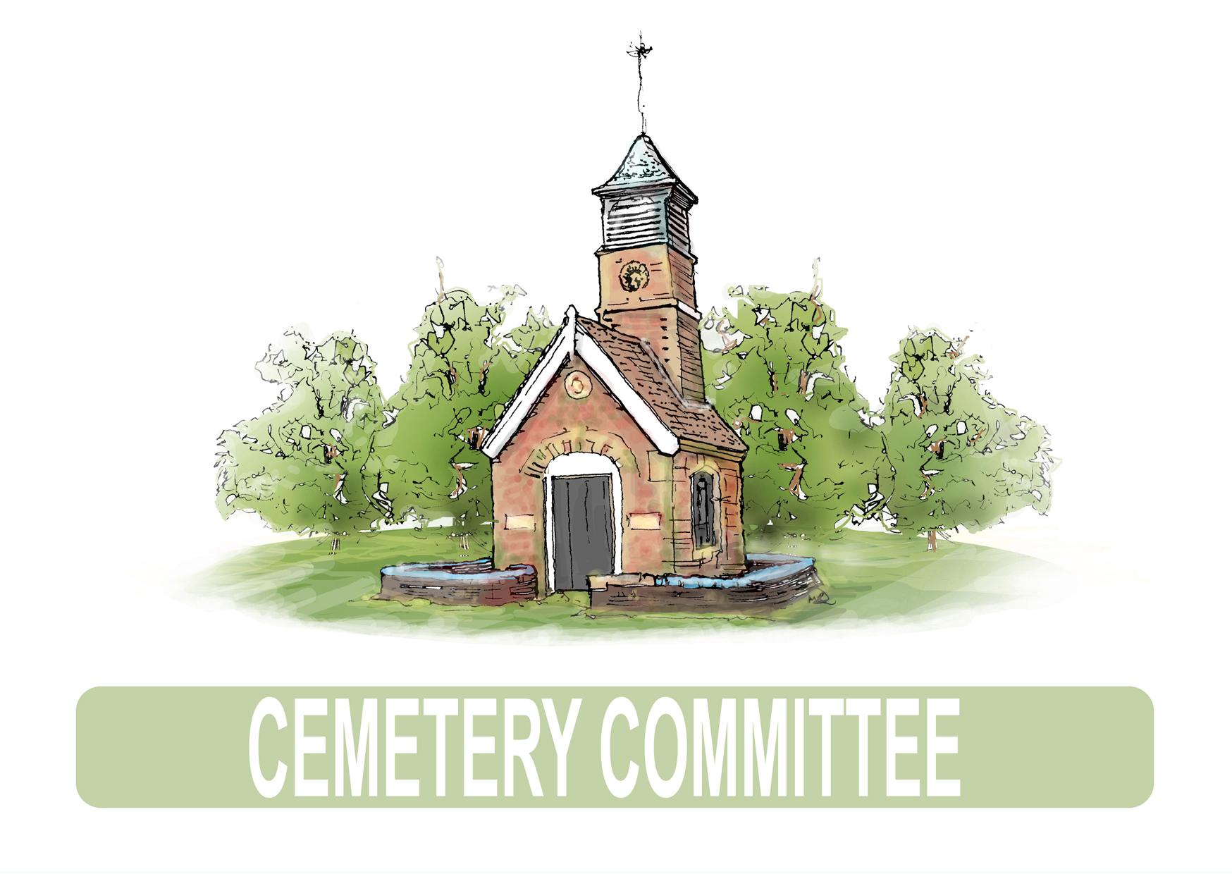 Cemetery Committee logo