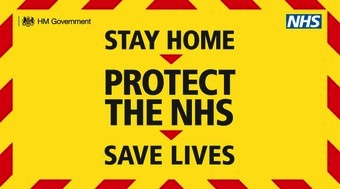 Stay Home - Protect the NHS - Save Lives Poster